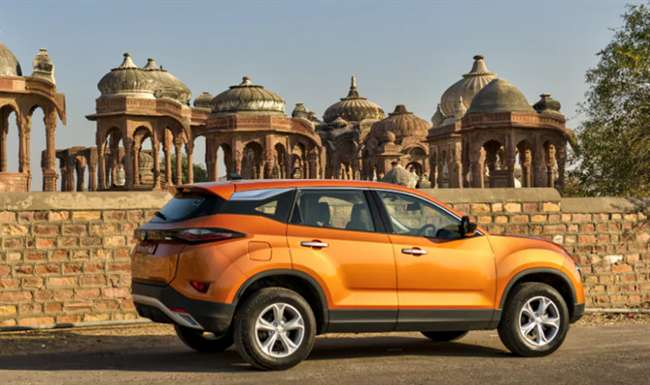 Tata Harrier Rear and Side